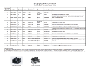 Bose Amplifier Connector Details  Page 3  Chevy SS Forum