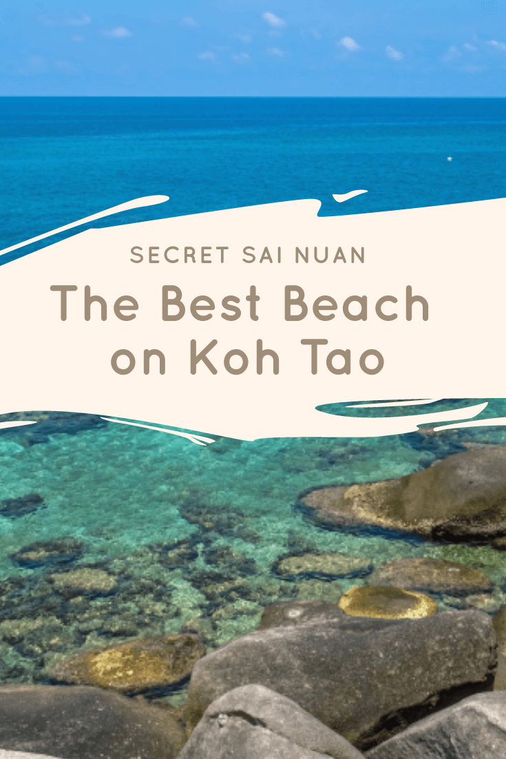 Secret Sai Nuan - Best Beach on Koh Tao