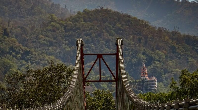 Ram Jula Bridge Rishikesh