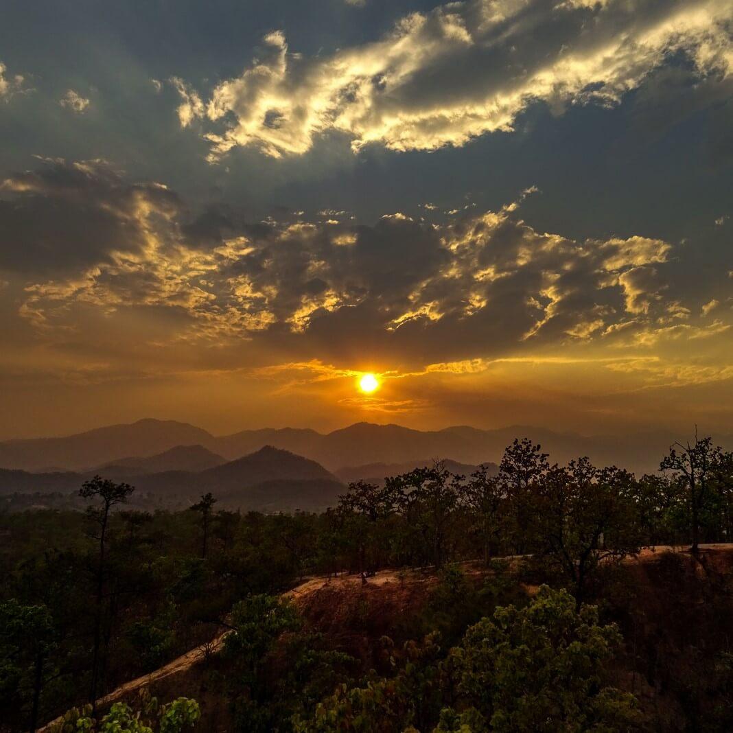 sunset pai canyon