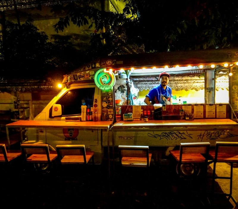 food truck pai Things to do in North Thailand