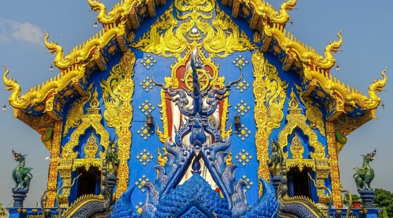 Blue Temple Chiang Rai Things to do in North Thailand