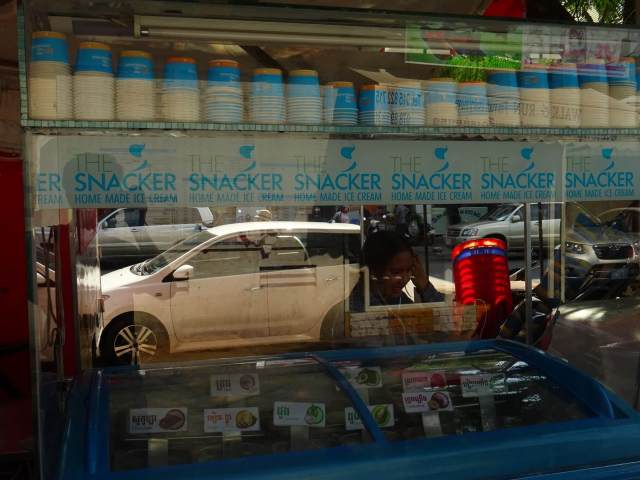 The Snacker Ice Cream in Phnom Penh