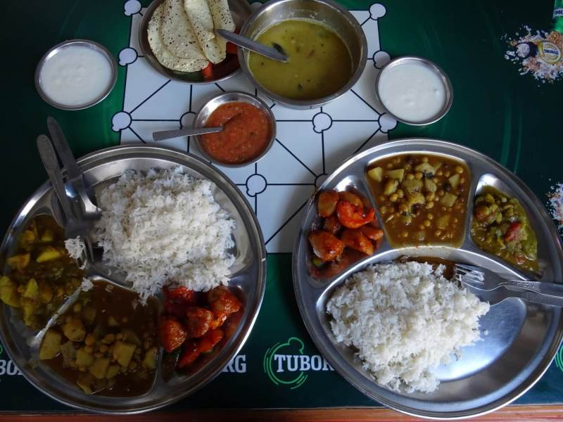 dal bhat Asian Teahouse