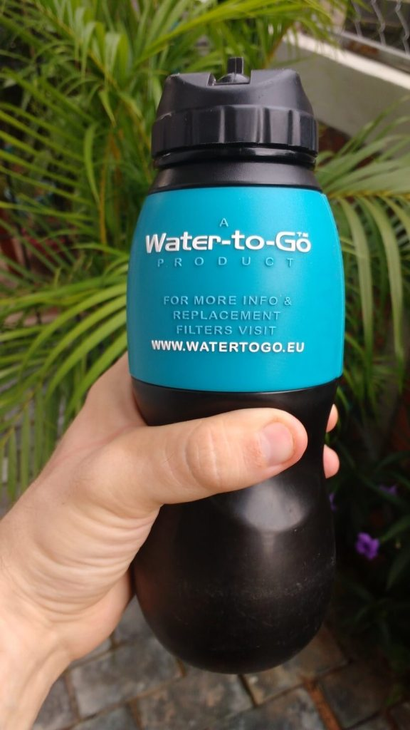 We love our Water-to-Go filter bottles