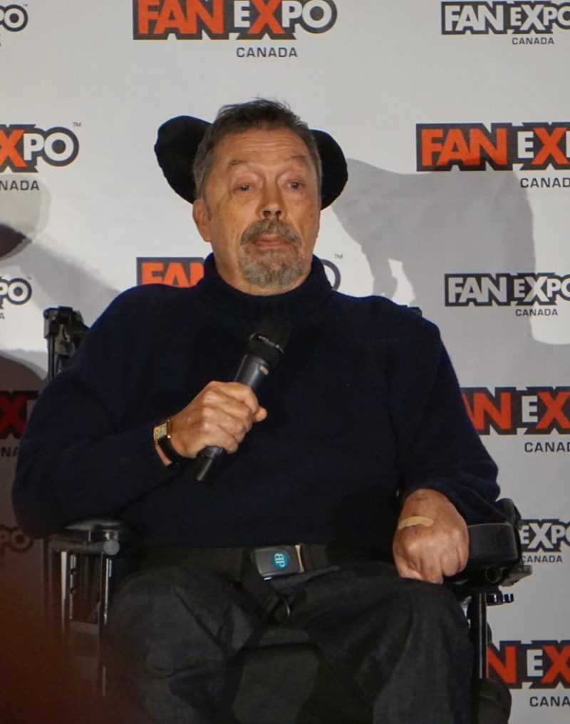 Tim Curry at Fan Expo Canada Pennywise It Movie