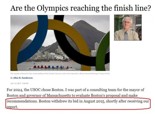 Are Olympics reaching the finish line-mash up