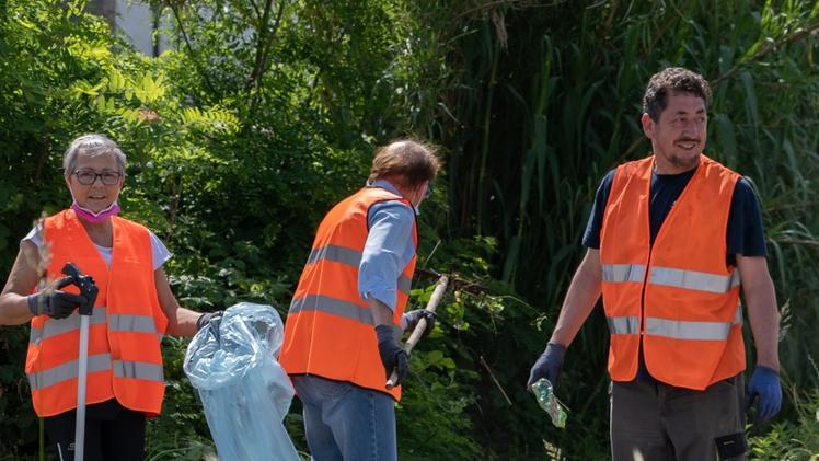 Ca' degli Oppi, pulizie dai rifiuti. Le piazzole della 434 le più sporche