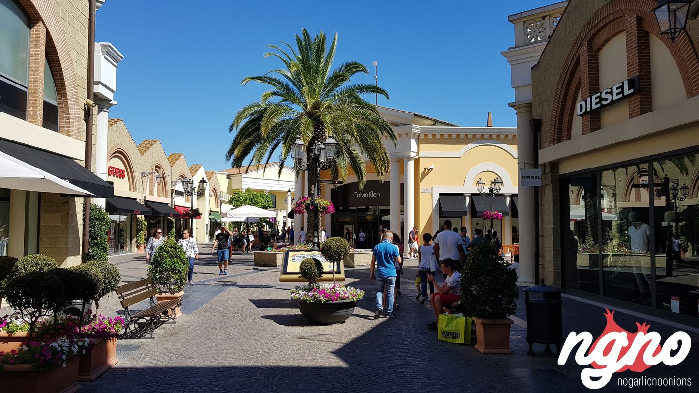 Shopping in Rome Castel Romano Designer Outlet