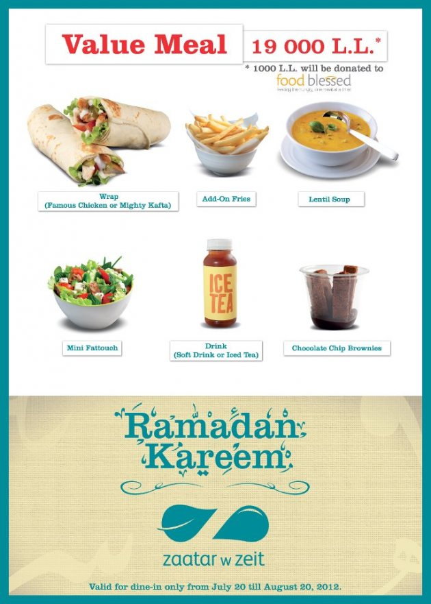 No Time Fasting Special Ramadan Menus We Like