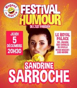 Sandrine SARROCHE au Festival NOGENT SE MARRE