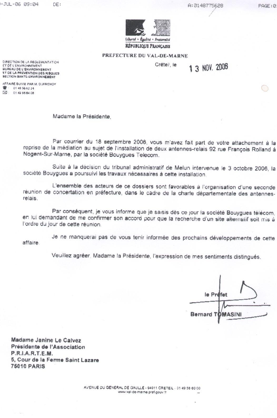 Exemple De Lettre Avec Signature P O