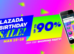 Lazada Turns 4 with a Birthday Blowout and more!