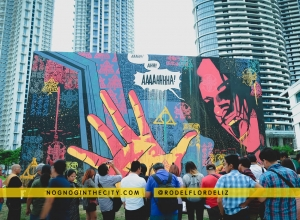 Outcast premiers on FOX + Outcast Mural by Team Manila