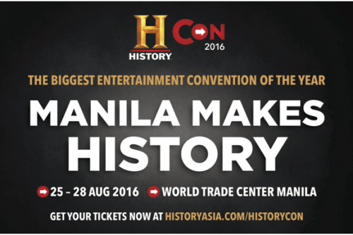12 things you need to know about History Con 2016