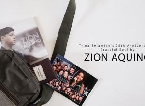 Zion Aquino: Grateful Soul + Trina Belamide's 25th Anniversary