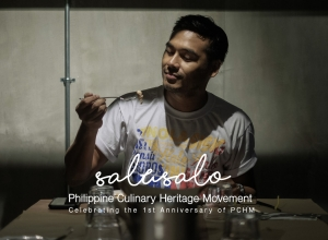The Philippine Culinary Heritage Movement First Anniversary – SALUSALO: Pagtitipon and Pasasalamat