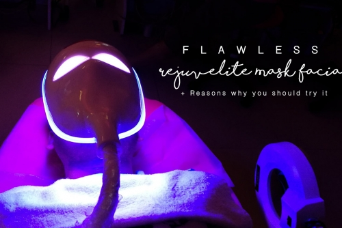 Rejuvelite Mask facial by Flawless + Reasons why you should try it