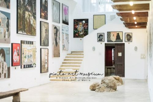 A Hidden Art Museum/Garden 25km East of Manila – PINTO ART MUSEUM