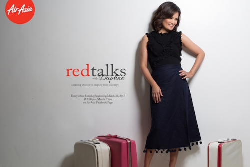 "AirAsia Presents ""Red Talks with Daphne"" 6-part web series"