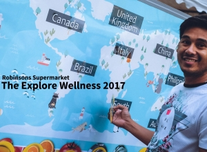 Robinsons Supermarket takes shoppers on another #ExploreWellness2017 journey