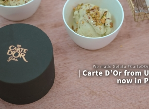 We made Gelato and tasted Carte D'Or from UK, Now in PH #CarteDOrPH