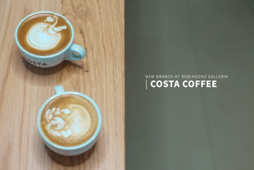 Costa Coffee opens its newest branch at Robinsons Galleria