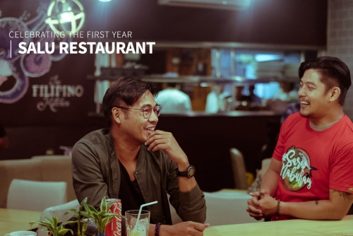 SALU Restaurant's First Anniversary + What's keeping Romnick Sarmenta & Harlene Baustista busy