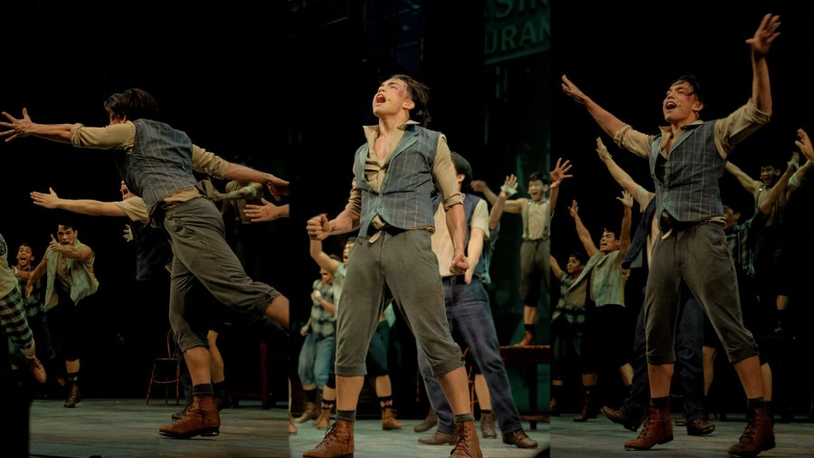 ALEX DIAZ IN THE NEWSIES