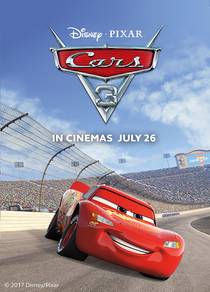 Cars 3 Premieres on July 26
