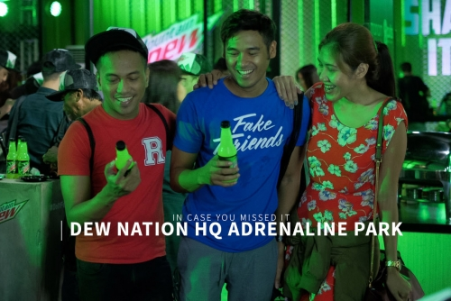 What you missed at the Dew Nation HQ Adrenaline Park