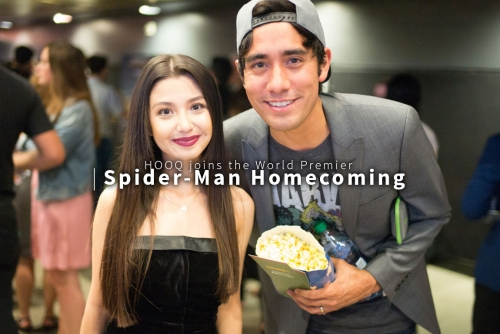 HOOQ joins Spider-Man Homecoming World Premier #HOOQTimeAnytime