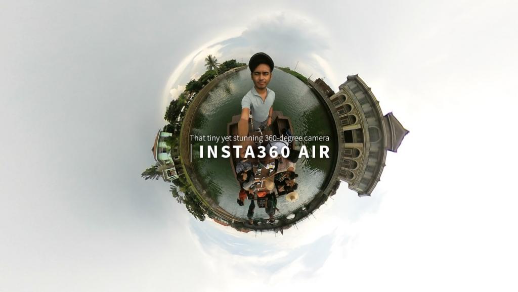 Insta360 Air –  That tiny yet stunning 360 degree camera