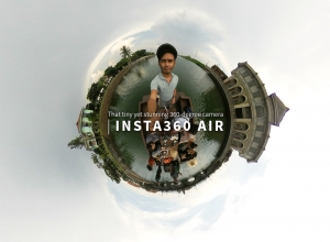 Insta360 Air –  That tiny yet stunning 360 degree camera