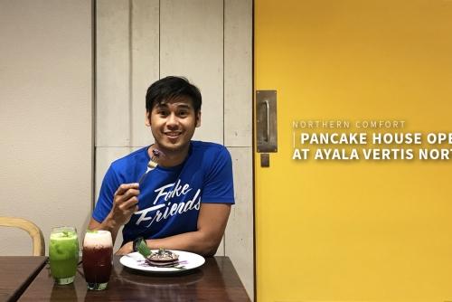 Northern Comfort:  Pancake House opens at  Ayala Malls Vertis North