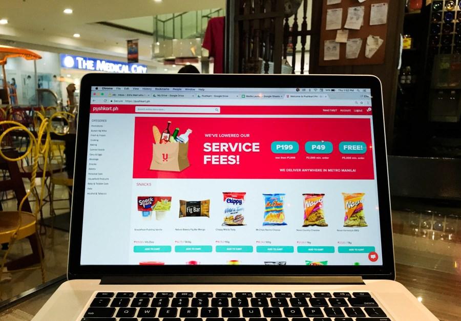 pushkart grocery shopping online (1 of 12)