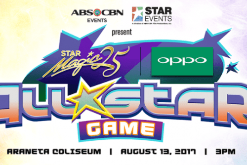 Daniel Padilla & Gerald Anderson leads Star Magic OPPO All-Star game with OPPO F3