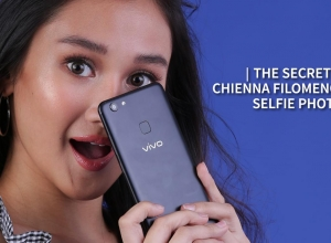 The secret to Chienna Filomeno's selfie photos