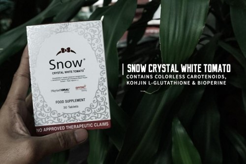 Natural Sunscreen Protection with Snow Crystal White Tomato