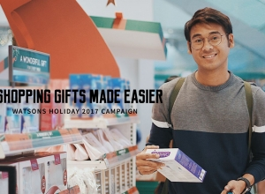 Shopping Gifts made easier! (Watsons Holiday 2017 Campaign)
