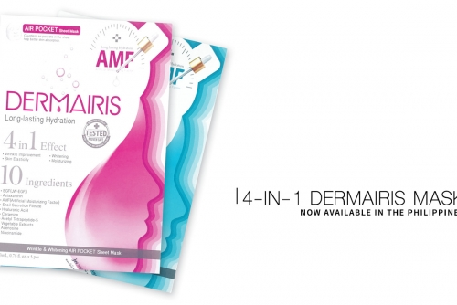Inside: 4-in-1 Dermairis Mask now available in Manila