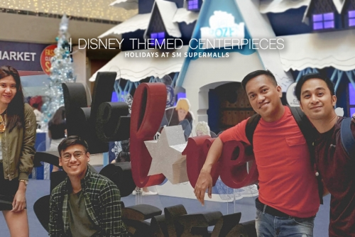Disney Themed Centerpieces and more this Holiday at SM Supermalls