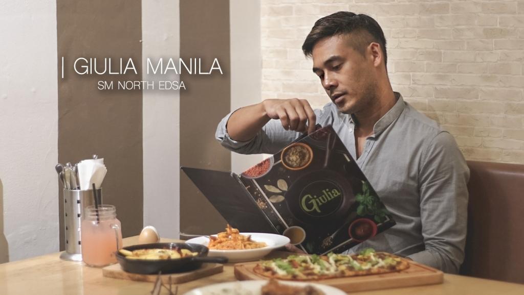 A pasta, pizza or gelato fix at Giulia Manila, SM North EDSA