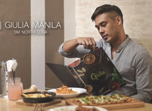 A pasta, pizza or gelato fix at Giulia Manila, SM North EDSA
