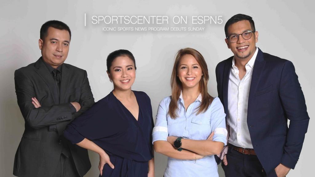 SportsCenter debuts Sunday on ESPN5, Philippines