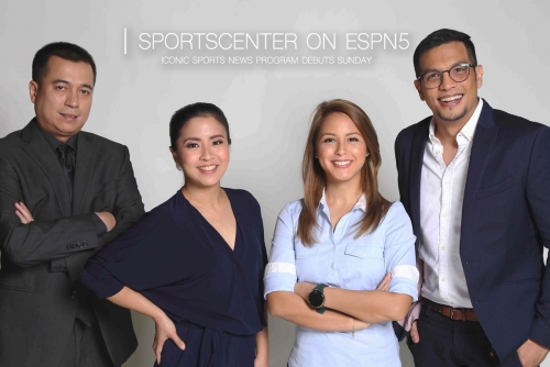 SportsCenter debuts Sunday on ESPN5, Philippines