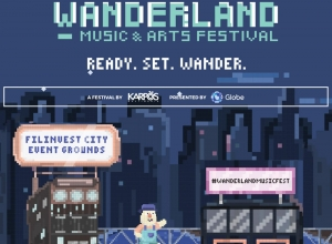 How to Win Wanderland 2018 tickets with Globe GoSURF