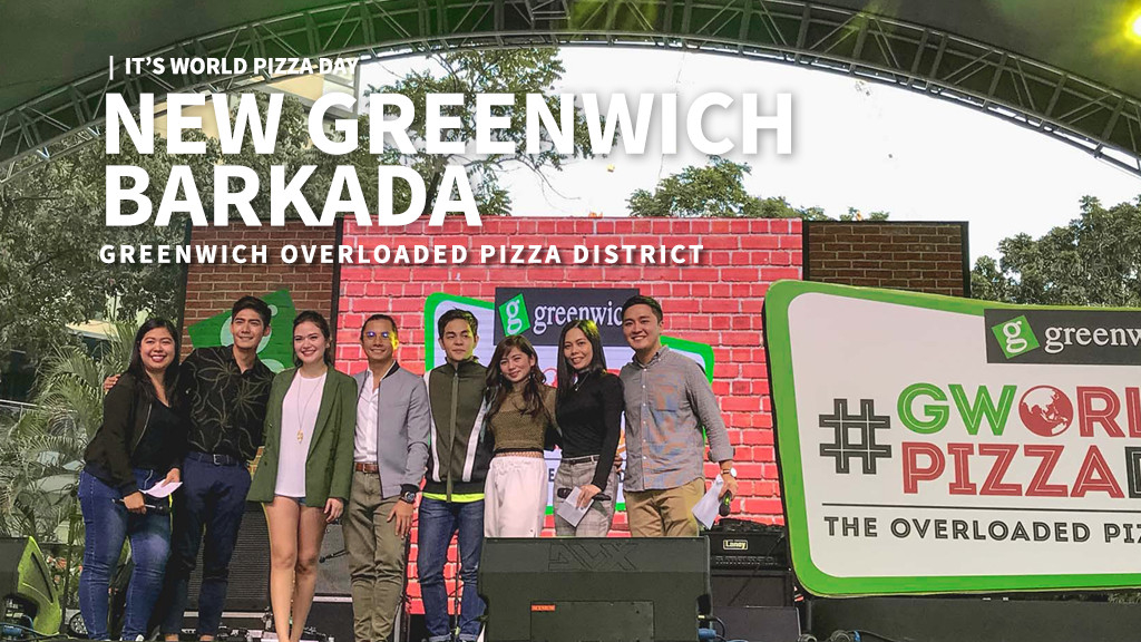 It's World Pizza Day + Greenwich Overloaded Pizza District + New Greenwich Barkada