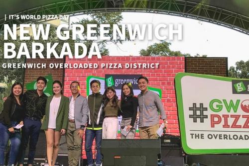 It's World Pizza Day + Greenwich Overloaded Pizza District + New Greenwich Barkada