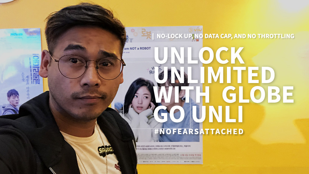 Unlock Unlimited with Go Unli by Globe (No-lock up, No data cap, and No throttling)